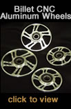 Billet CNC Aluminum Wheels for snowmobiles